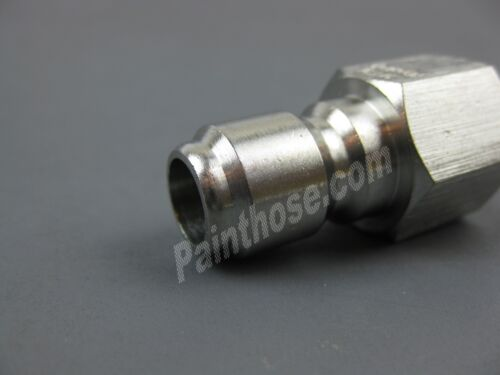 "MTM Hydro 24.0073 Plated Steel QC Plug 1//4/"" FPT"