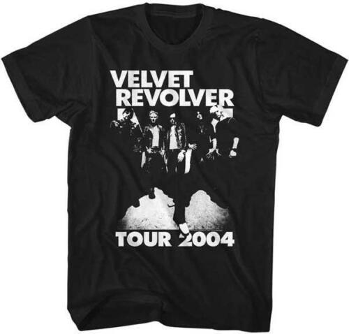 VELVET REVOLVER 2004 TOUR GROUP PHOTO Hard Rock Super Group Band Concert T-Shirt