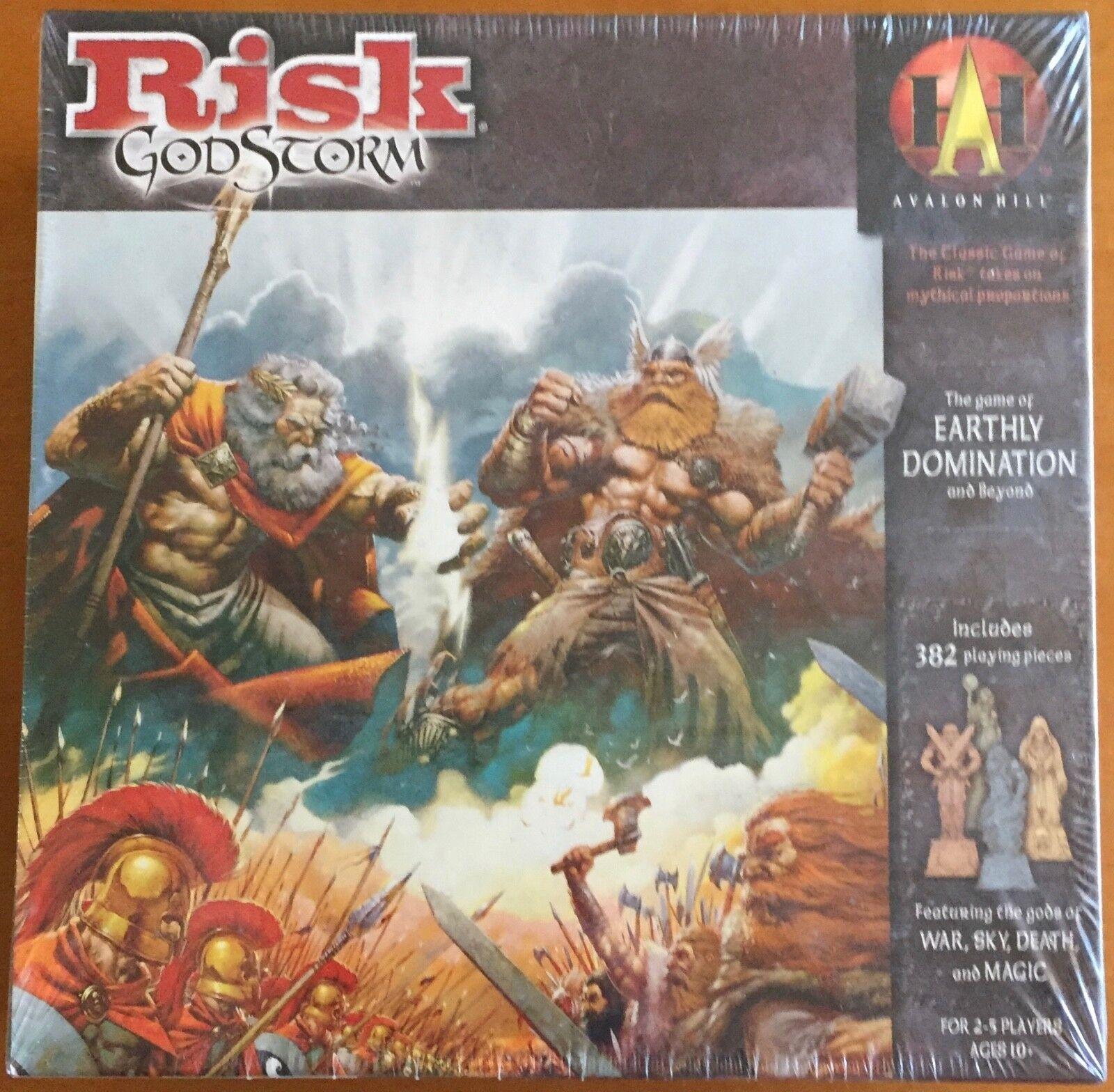 Risk GodStorm - Avalon Hill 2004 - Blisterato Sealed Shrinkwrapped