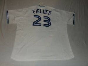 d9fd8265 Image is loading NWT-AUTHENTIC-MITCHELL-AND-NESS-CECIL-FIELDER-TORONTO-