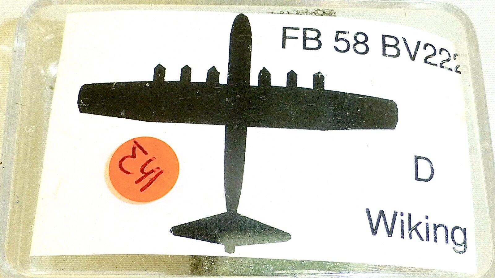 Fb 58 BV222 D Aircraft to Ship Model 1 1250 Shp ∑ 41 Å