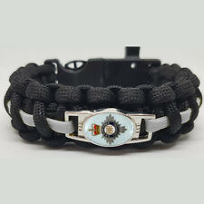 HM Prison Service Badged Survival Bracelet Tactical Edge.