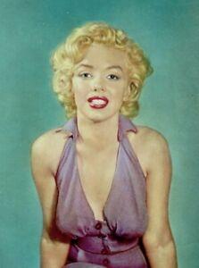 Marilyn-Monroe-1953-Vintage-Pinup-Litho-Carlyle-Blackwell-Photo-Publicity-COA