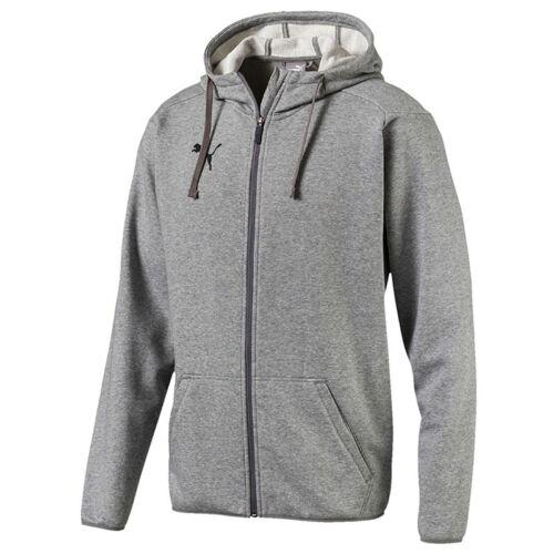 Fußball Jacken Herren Fußball/Freizeit Kapuzenjacke 655771-33 Puma LIGA Casuals Hoody Jacket