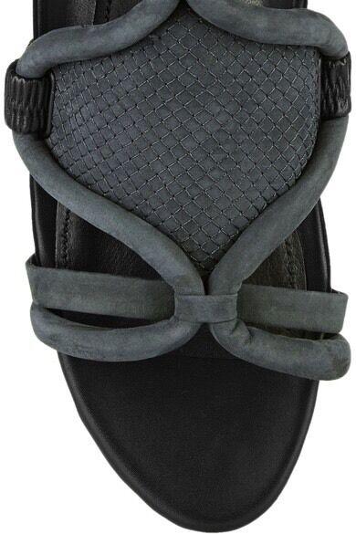 3.1 phillip lim gris charbon anthracite marquise nubuck uk5.5 sandales uk5.5 nubuck / 38,5 07b093
