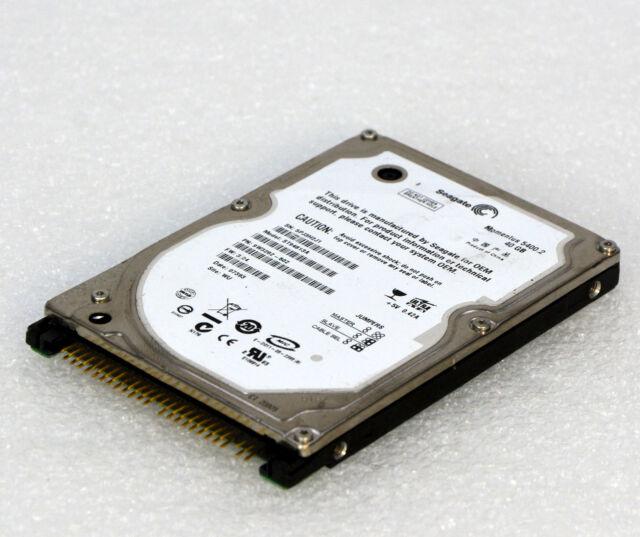 """40GB 2,5"""" 6,35 CM HDD IDE PATA NOTEBOOK FESTPLATTE SEAGATE ST94813A 5400RPM O103"""