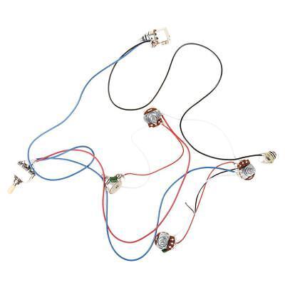 wiring harness kit set for les paul lp electric guitar accessory 2v2t1j 500k ebay. Black Bedroom Furniture Sets. Home Design Ideas