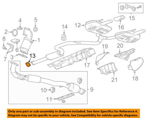 GM OEM Exhaust-Muffler /& Pipe Gasket 22816982