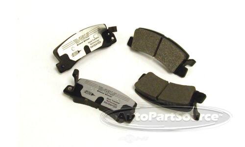 Disc Brake Pad Set-Semi-Metallic Pads Rear Tru Star PPM325