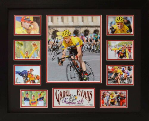 Cadel E Limited Edition Framed Signed Memorabilia