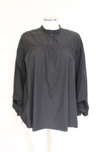 Cotton Blouse Black 6 Shirt Us Sleeve Tomas Maier Puff za4qfpU