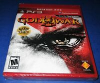 God Of War Iii Sony Playstation 3 Factory Sealed Free Shipping