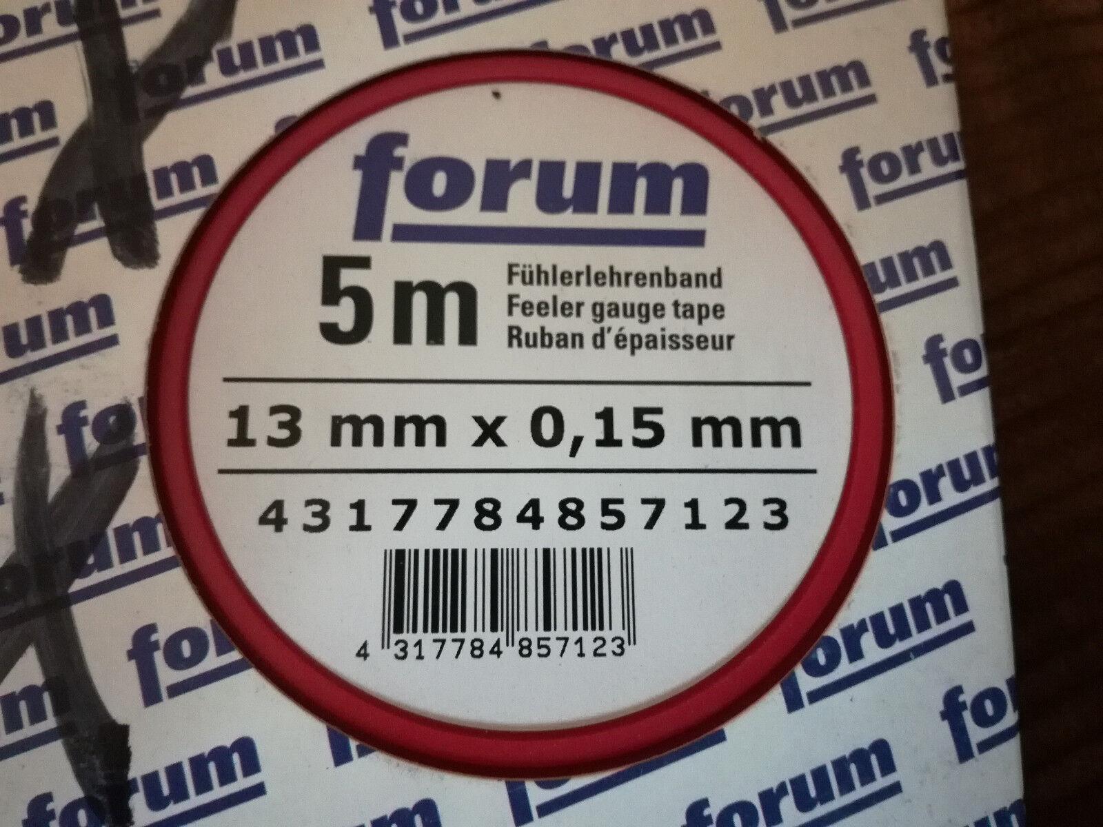 FORMAT Fühlerlehrenband 0,15mm INOX