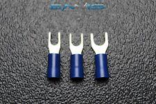 75 Pk 14 16 Gauge Vinyl Spade Connectors 25 Pcs Each 6 8 10 Terminal Fork