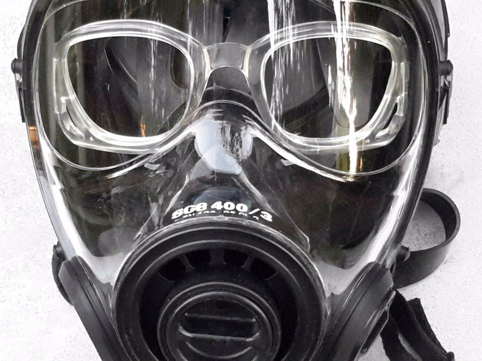 SGE Gas Mask Spectacle Frame For SGE 150, 400  & 400 3 Users Needing Glasses  fashionable