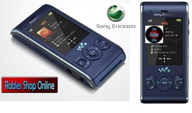 Sony Ericsson W595 Blue Walkman (Ohne Simlock) 3G 3,2MP MP3 Radio VideoCall TOP