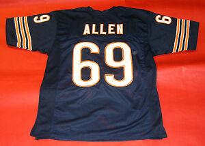 half off 01287 ea6a8 Details about JARED ALLEN CUSTOM CHICAGO BEARS JERSEY
