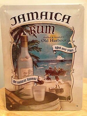 Jamaica Rum / drink wall decor bar - garage Embossed metal Sign (15x20cm)