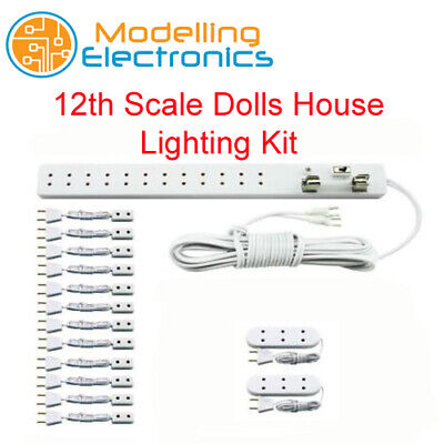 1//12 Dolls House Emporium Replacement Two Pin Light Plug for light strip 5643