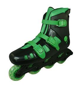 Skeelers-Kids-Roller-Blades-Inline-Skates-Boys-Girls-Black-Green
