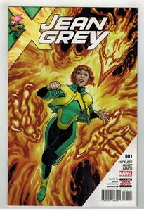 JEAN GREY #6 PAUL DAVIDSON ART MARVEL COMICS//2017 DAVID YARDIN COVER
