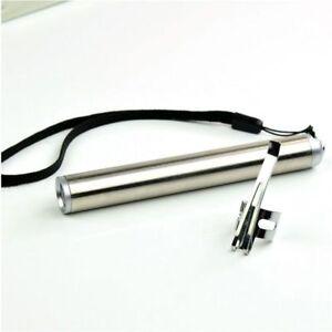 Portable Led Flashlight Mini Waterproof Aluminium Alloy AAA Battery Cree Torch