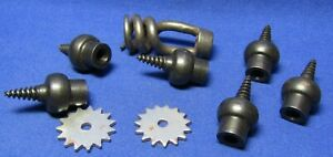 Civil-War-Army-Bullet-Extractor-Musket-Wiper-Worm-Tools-amp-Spurs-Lot-Of-9