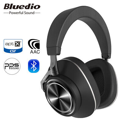 Bluetooth Headphones Bluedio T6C Wireless Stereo PPS8 Headsets Support APTX