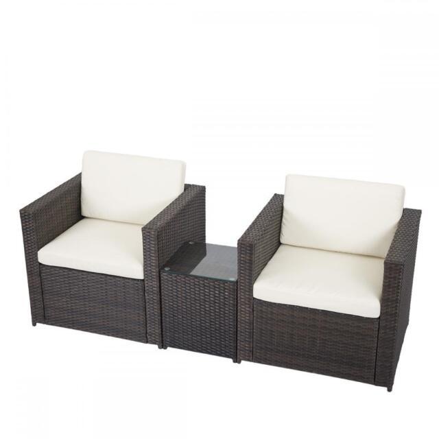 Wicker Sofa For Sale Uk: Outdoor Patio Sofa Set Sectional Furniture PE Wicker