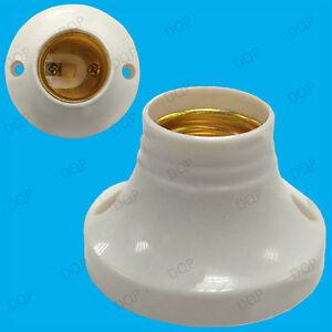 10x-E27-Edison-Screw-Cap-Socket-Light-Bulb-Holder-Fitting-ES-Lamp-Fixing-63mm