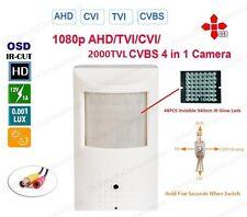 1080P HD-CVI PIR Shape Mini Wired Pinhole Hidden Spy Nanny Video Security Camera