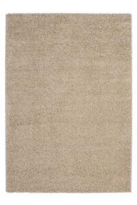 Offre-speciale-tapis-epais-souple-poils-longs-Shaggy-retro-poil-ras-marron