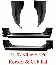 73 87 4Pc Extended Rocker Panel & Cab Corner Kit Chevy & GMC Truck Regular Cab