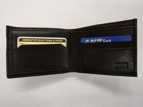 Euros and Dollars Soft Sheep Skin Leather Wallet Slim Ideal for Back Pocket