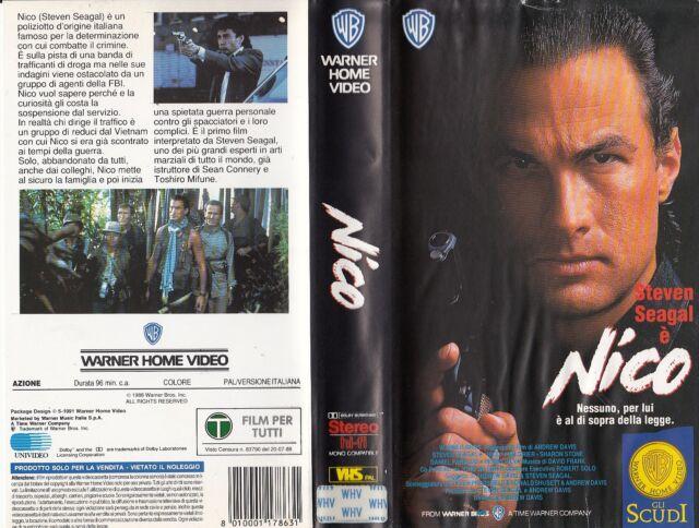 NICO (1988) VHS