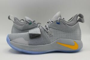 promo code 6c426 2a34f Details about NIKE PG 2.5 x PLAYSTATION Paul George Wolf Grey Multi-color  BQ8388-001 Sz 10.5