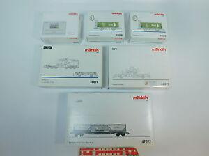 AV667-1-6x-Maerklin-H0-Leerkarton-fuer-Gueterwagen-48930-94018-46972-47072-48674