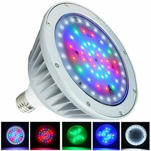 Details about RGB 40W 12Volt Color Changing Replace Swimming Pool Lights  Bulb LED For Inground