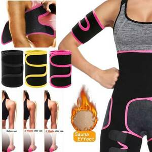 Neoprene Arm Trimmers Sauna Sweat Band for Women Men Weight Loss Exercise Shaper
