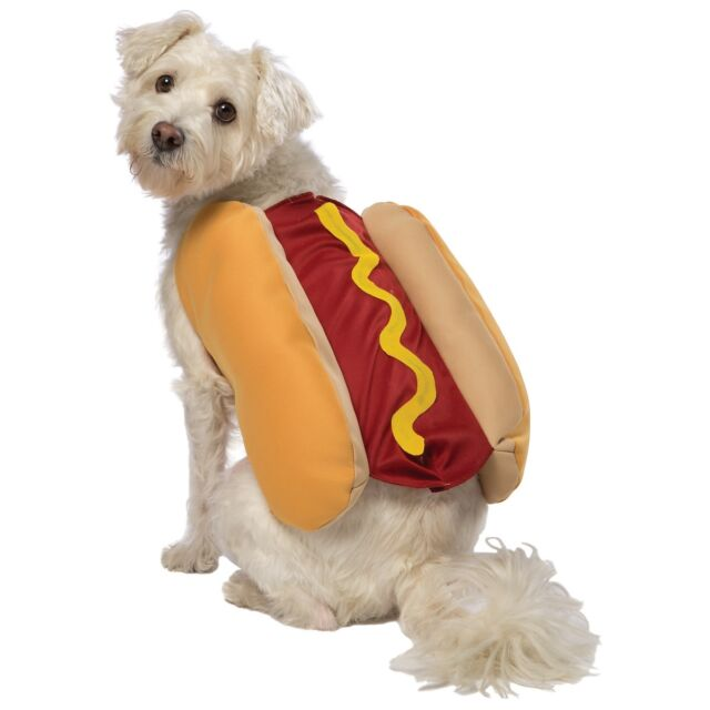 Hot Dog Dog Costume Pet Costume Pet Halloween Fancy Dress