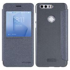 Nillkin Smart Window Slim Flip Leather Wallet Card Cover Case For Huawei Honor 8