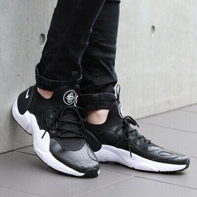 Nike Huarache e.d.g.e Couro Preto Branco AV3598,001 Multi sapatos  masculinos tamanho Novo