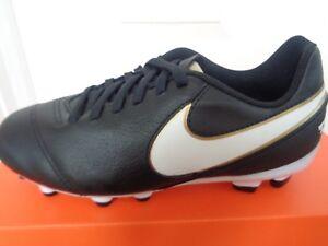 8277ad9c0 Nike JR Tiempo Legend VI FG football boots 819186 010 uk 3 eu 35.5 ...