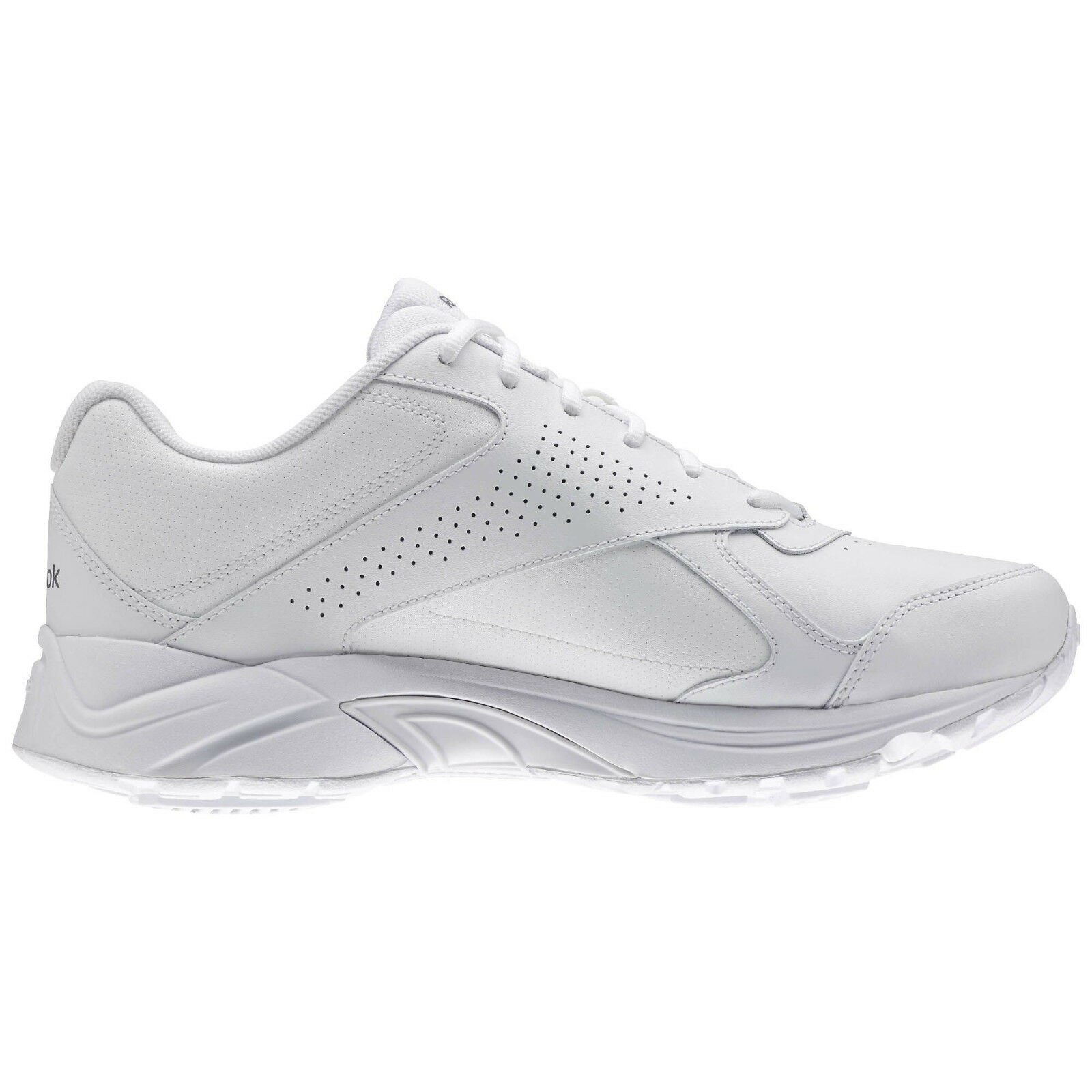 Reebok Walk Ulytra V DMX White AQ9221 X Wide 4E Sneaker shoes Size 8 NEW