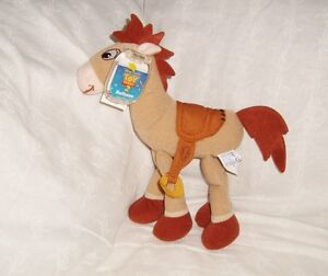 Peluche plush doudou toy story cheval pile poil star bean Mattel 20x18cm NEUF