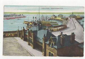 The-Pier-Southampton-1913-Postcard-214a