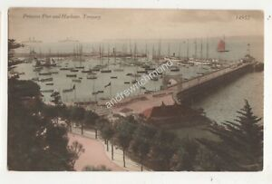 Princess Pier amp Harbour Torquay Devon Vintage Postcard Ern Bishop 684b - Aberystwyth, United Kingdom - Princess Pier amp Harbour Torquay Devon Vintage Postcard Ern Bishop 684b - Aberystwyth, United Kingdom