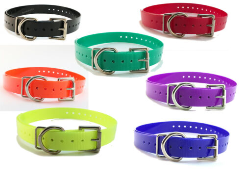 Sparky PetCo Educator Compatible 3//4 Replacement High Flex Strap 7 Colors USA