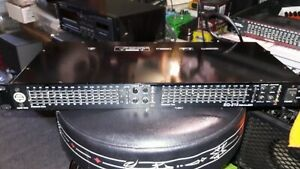 Audio-Trax-215-stereo-graphic-equalizer-CLEAN-AS-SHOWN-black