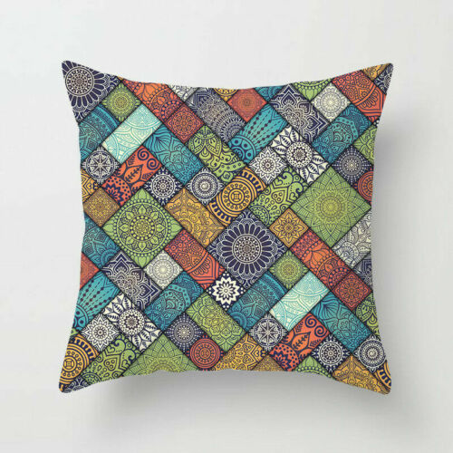 Standard Pillow Many Cover Home Polyester Pillow Colorful Case 18/'/' Datura Decor
